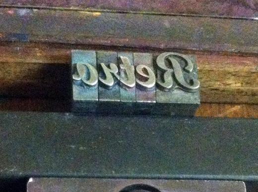 retro letters reverse