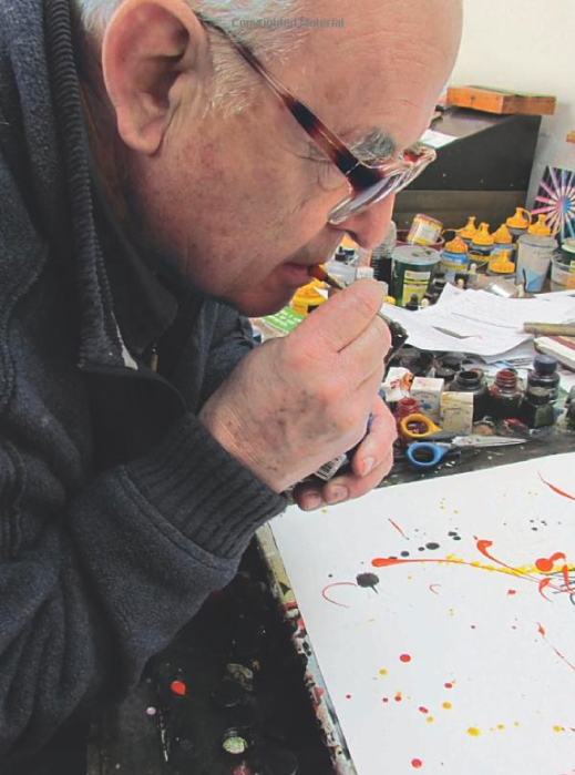 ralph steadman blowing ink