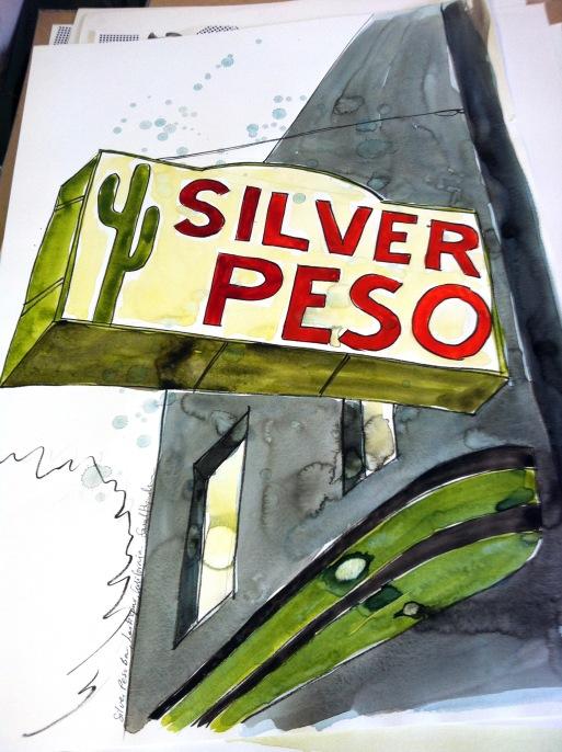silver peso Larkspur California