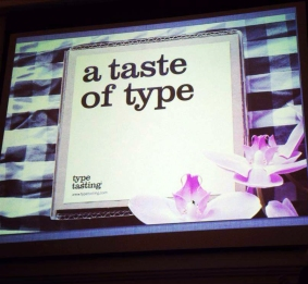 taste of type slide