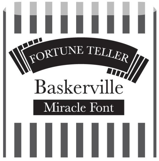 fortune font pics baskerville