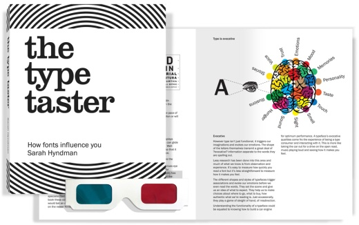 The Type Taster by Sarah Hyndman