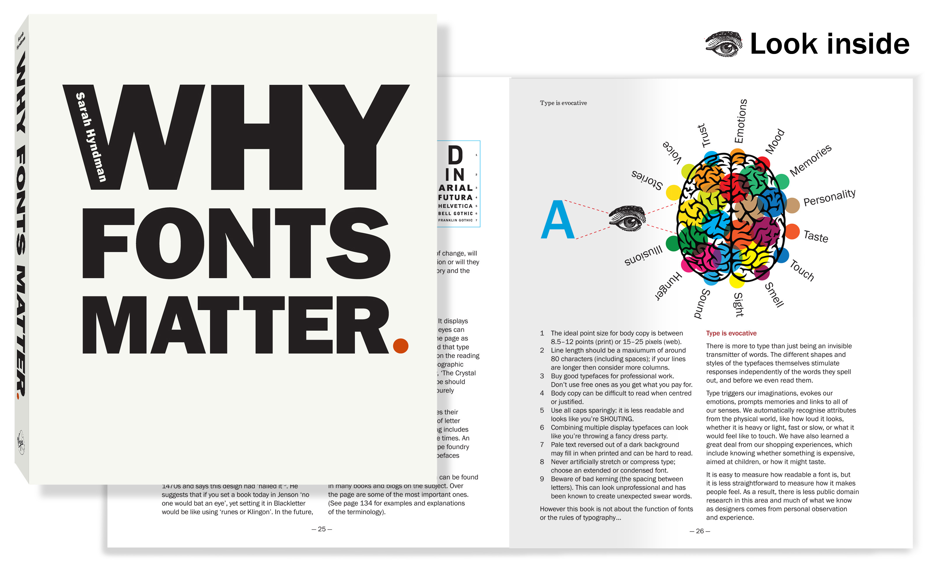 Typographic Book Cover Notes : Why fonts matter type tasting