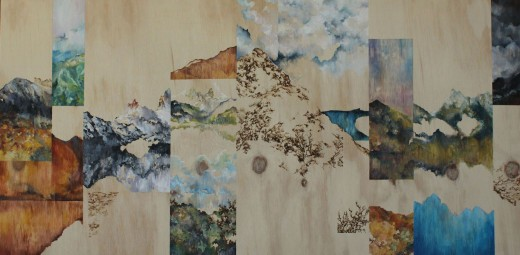 Michelle Loa Kum Cheung_An Incomplete Fabrication (of Cradle Mountain)_