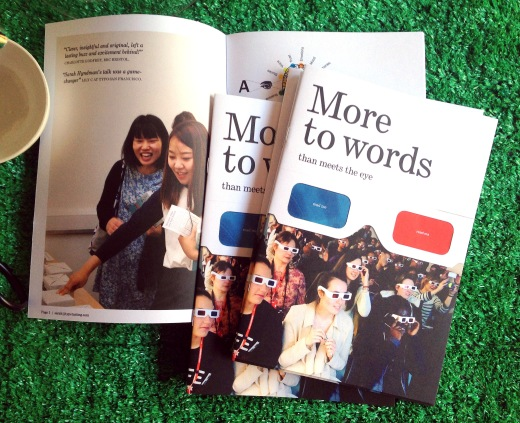 More to Words brochure
