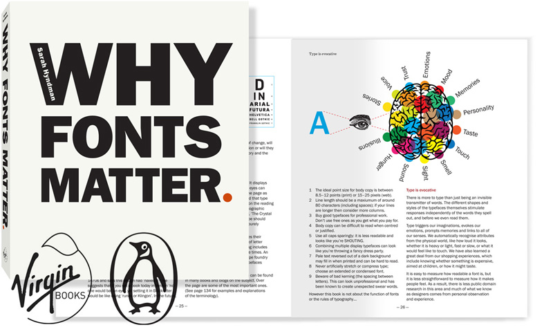 Buy 'Why Fonts Matter' the book