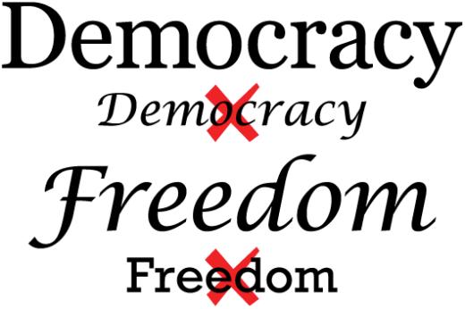 Democracy Freedom