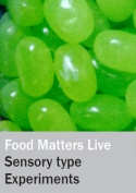 Sensory type experiments at Food Matters Live