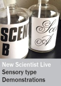 Demonstrations and experiments at New Scientist Live