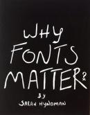 Dahiwadkar Aditya, Why Fonts Matter