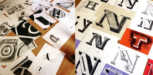 Case study: Design thinking with typography workshop