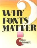 Vernekar Aishwarya, Why Fonts Matter