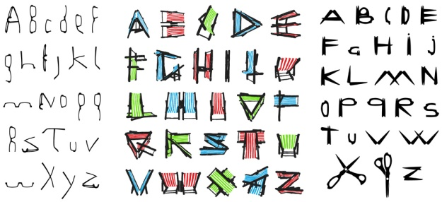 Creative Lockdown alphabet ideas