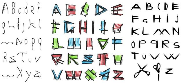 Creative Lockdown alphabet ideas